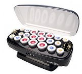 BaBylissPRO Ceramic Velvet Hot Rollers 3 Sizes 20pc
